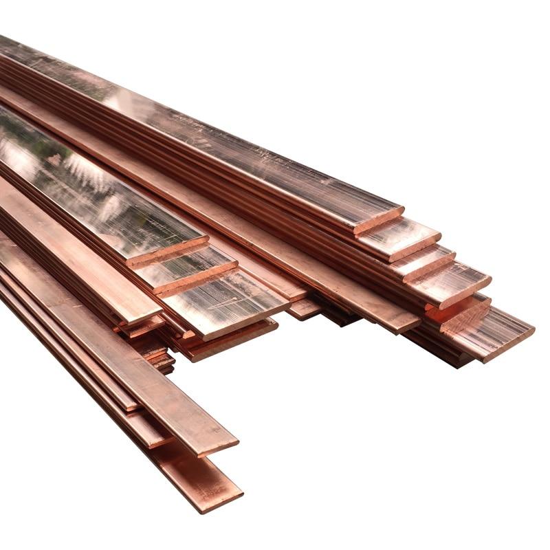 99% haute Pureté Cuivre Bande T2 Cu Tôle Pur Barre De Cuivre pour BRICOLAGE CNC PCB Kit Stratifié Circuit 2/3/4mm