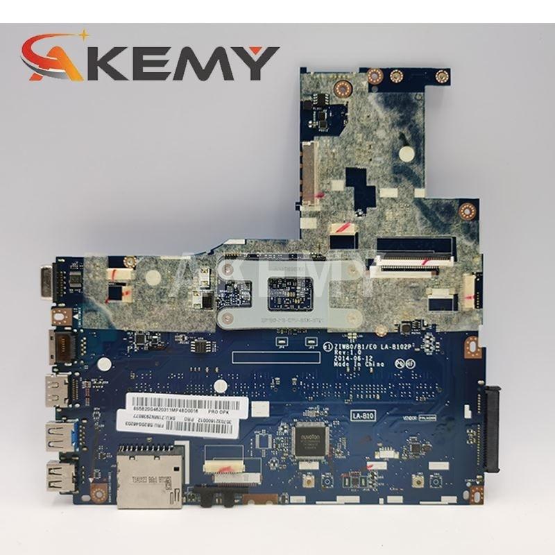 5B20G90129 Mainboard For Lenovo B50-30 Laptop pc motherboard w N3540 N3530 CPU ZIWB0/B1/E0 REV:1.0 LA-B102P Fully Tested OK 6