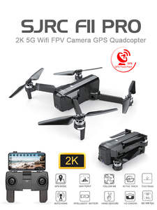 GPS Drone Camera Wifi Brushless Quadcopter Foldable SG906 Sjrc F11 25-Minutes FPV PRO