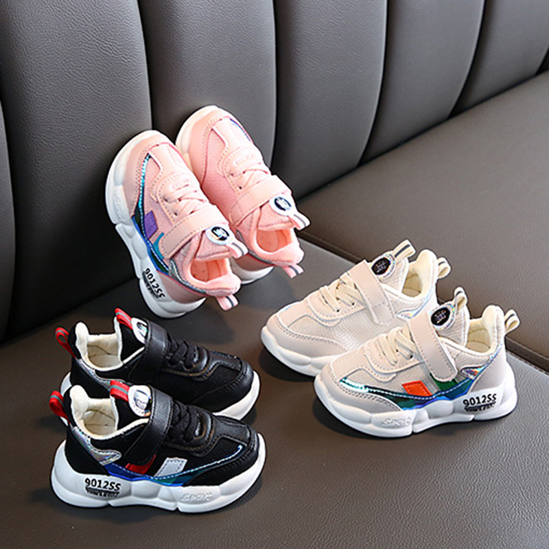 New Children's Baby Kids Sports Fashion Sneakers Running Shoes Boys And Girls Students Mesh Casual Leisure Shoes