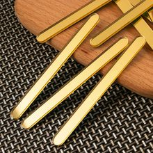 50pcs Acrylic Ice Cream Sticks Popsicle Stick Kids DIY Ice Cream Sticks Crafts Popsicle Stick Mould 11.3x1cm