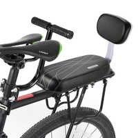 Sillín de Bicicleta ciclismo niños funda de asiento de seguridad soporte de asiento de Bicicleta asiento de asiento