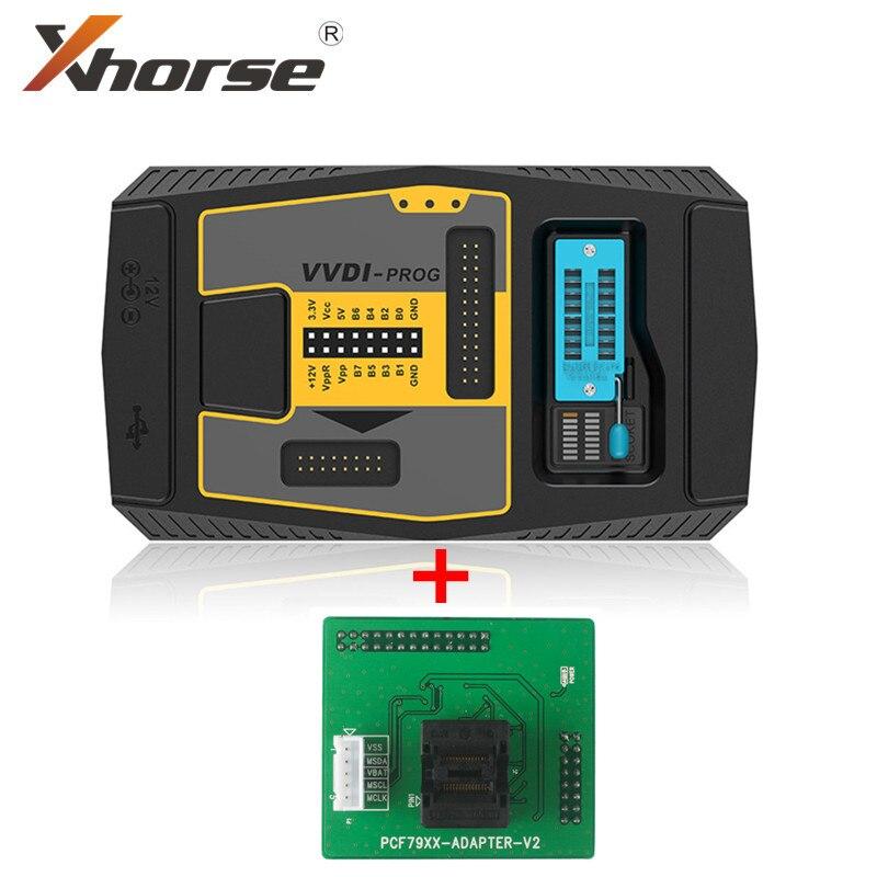 Оригинальный программатор Xhorse VVDI PROG V5.0.1 Plus, адаптер PCF79XX для программатора VVDI PROG