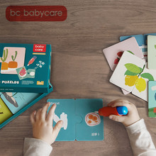 BC Babycare 4 Styles Water Drawing Book Puzzle Toys Set Kids Coloring Book Doodle with Magic Pen Children Painting Puzzle Toys