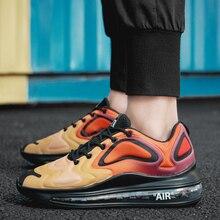 2019 Men's Fashion Full Palm Air Sports Shoes Men's Comforta
