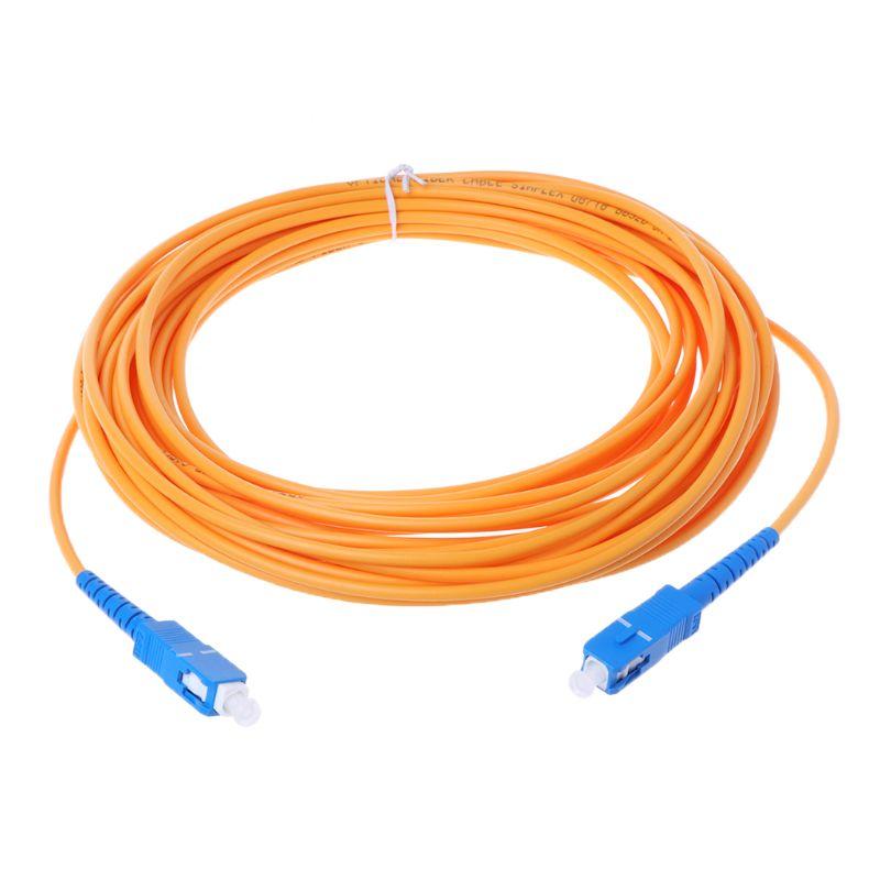 SC/UPC-SC/UPC-SM 3mm Fiber Optic Jumper Cable Single Mode Extension Patch Cord 831D 3