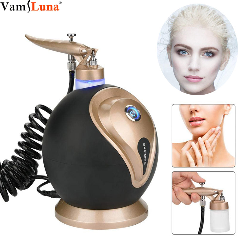 Water Oxygen Sprayer Humidifier, Oxygen Injection Machine - For Facial Moisturizing Whitening Shrink Pores Oxygen Skin Rejuvenat