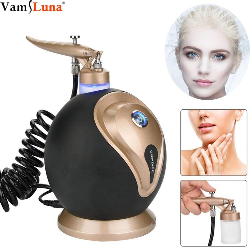 Water Oxygen Sprayer Humidifier, Oxygen Injection Machine - For Facial Moisturizing Whitening Shrink Pores Oxygen Skin Rejuvenat