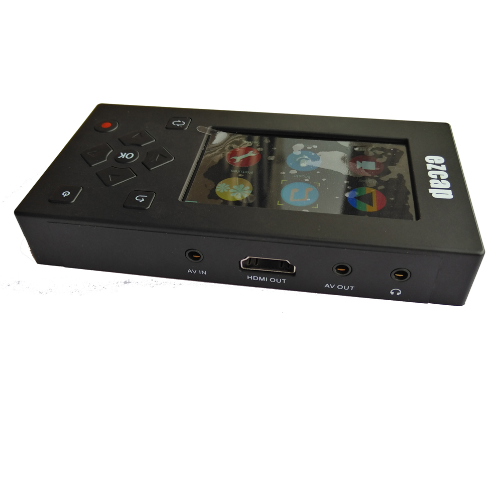 Portable Analog Video Recorder, Record Analog Video To Digital, No Computer Need From VHS, Hi8, VCR, DVR, DVD Player And Gaming