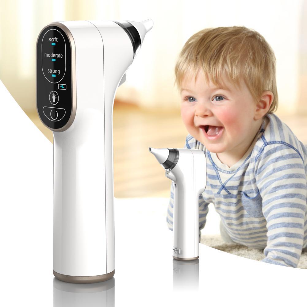Baby Nasal Aspirator Electric Vacuum Nose Cleaner Adjustab Three-speed Nasal Suction Device Waterproof Sniffling Equipment