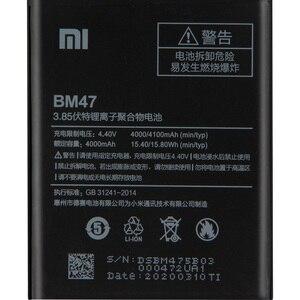 Image 2 - Batterie téléphone dorigine BM47 XIAOMI pour Xiaomi Redmi 3 3S 3X 4X Pro Redmi Note 4 4X 4X Pro Mi5 BN43 BN41 BM46 batterie de remplacement