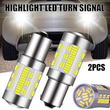 2PCS Car LED Turn Signal Light 1156 PY21W LED Canbus Bulb 4014 105SMD LED for Reverse Turn Signal Lamps No Hyperflash Tail Light