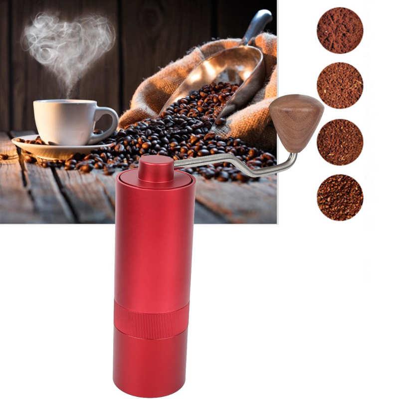 Мини Нержавеющаясталь ручной Кофе шлифовальная машина Кофе Bean мельница машина Кухня аксессуар красный 30g