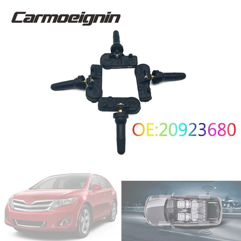 4PCS//Set For GM Buick 13586335 20923680 25920615 TPMS Tire Air Pressure Sensors