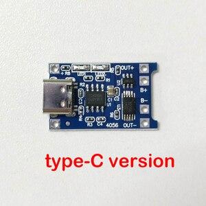 Image 5 - 3.7 فولت ليثيوم شاحن بطارية لوح حماية 5 فولت 1A 2A ليثيوم أيون يبو بطارية شحن حماية اثنين في واحد وحدة المصغّر USB Type C