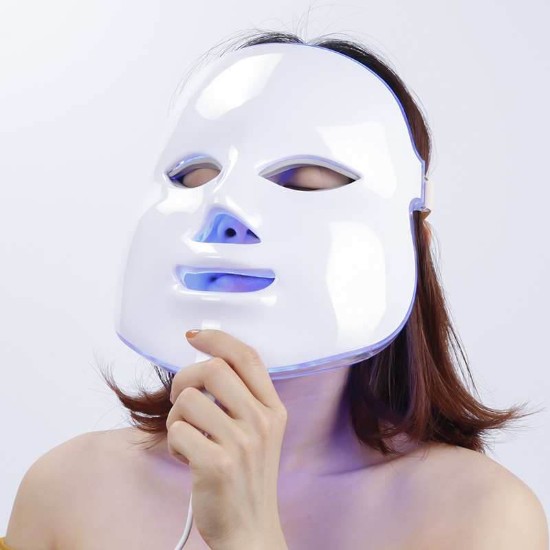 Traitement facial anti-vieillissement de machine de beauté de rajeunissement de dispositif électrique de photon de PDT de retrait de ride de masque facial de beauté de LED
