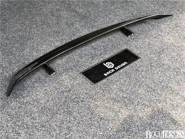 Aileron daile de coffre arrière Honda Civic   En Fiber de carbone de Style GT adapté au Spoiler de coffre arrière Honda Civic décoration de voiture 2016-2018