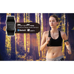 Ultralight Smart Bluetooth 4.0 ANT+ Heart Rate Monitor Armband Fitness Equipment Outdoor Sports Running Fitness Arm Band Strap