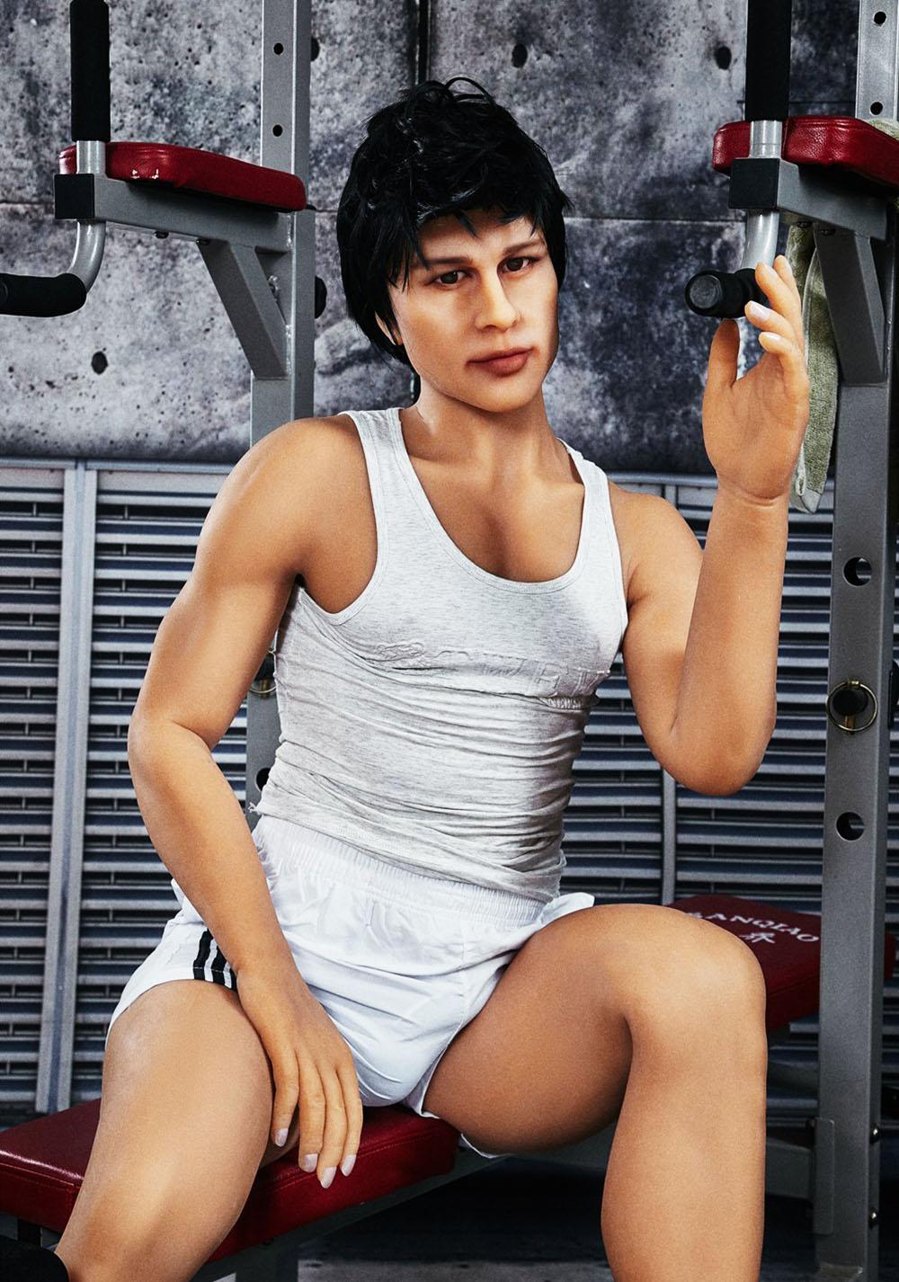 H8b1bc807d77846aa87d1e5345c45e545Y Muñeca sexual de silicona para hombre Gay, juguete de 165cm, alta calidad, para mujeres adultas, pene grande, 18cm, nuevo