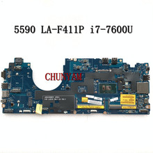 Mainboard Latitude I7-7600u Dell NEW FOR 5590 Laptop Cn-0xpmy5/Xpmy5/8grw7/.. DDM80 LA-F411P