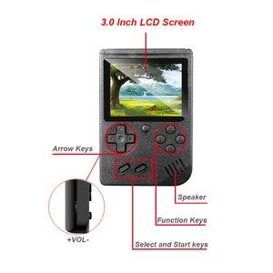 Image 2 - Ingebouwde 400 Games Mini Draagbare Retro Video Handheld Game Console Met 3.0 Inch Kleuren Lcd scherm Handheld Game Spelers