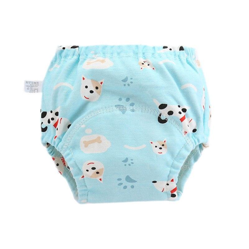 Детские тканевые подгузники многоразовые Подгузники моющиеся Детские хлопковые тренировочные штаны трусы