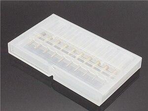 Image 5 - 10 stücke Set 0,8 3,175mm Titan Beschichtete Hartmetall schaftfräser Gravur Rand Cutter CNC Router Bits Ende mühle für PCB Maschine