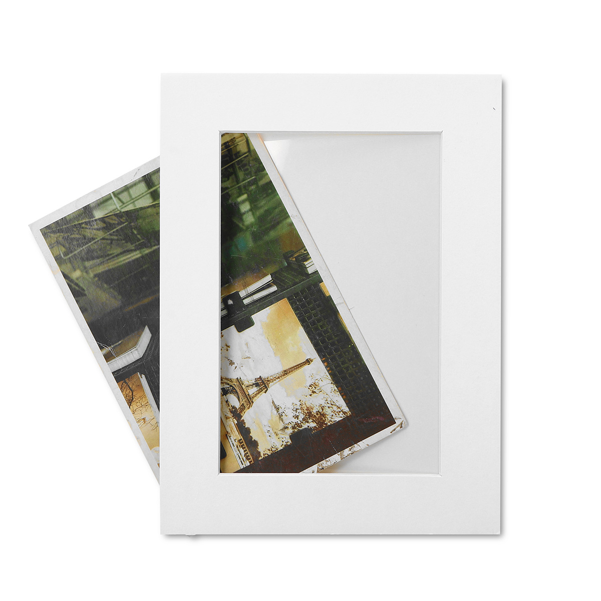 21 шт./компл. черный и белый DIY Комбинации Бумага фоторамка настенные Гостиная Спальня Съемная забавная рамка для фотографий - 6