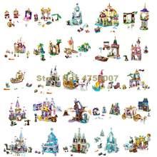 Menina princesa barco gelo castelo bruxa undersea palácio celebração real navio abóbora transporte livro brinquedo