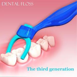 Replaceable Floss Toothpick Teeth-Sticks Flat-Wire Oral-Care Hygiene Super-Fiber Dental