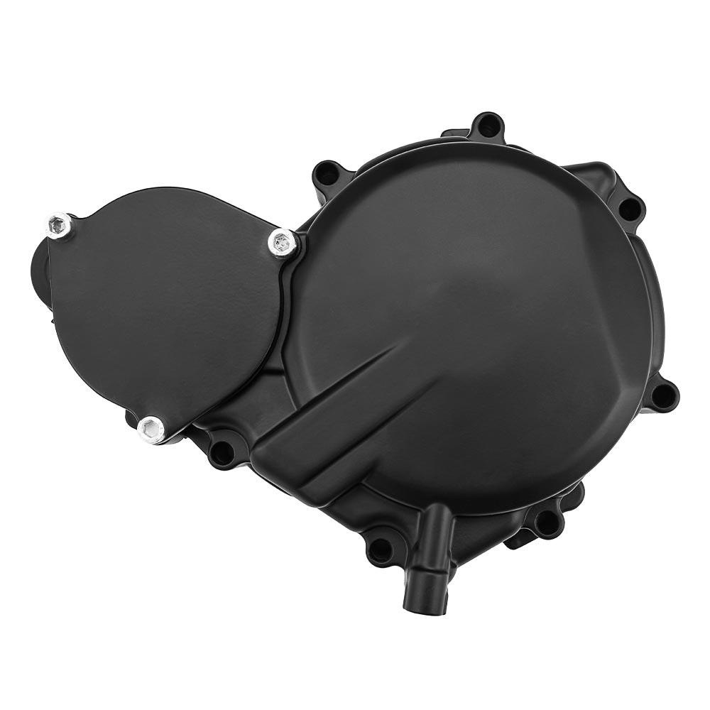 cheapest Motorcycle Yellow Lens 12V Hi Low Bean Bulb Front Headlight Metal Retro Grill Mask Universal For Honda CB100 CB125S GN125 CG125