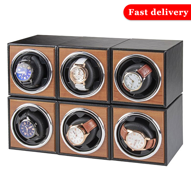 Watch Winder for automatic watches single Wooden Watch Accessories Box Watches Storage Luxury-0