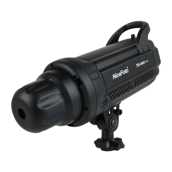 Nicefoto TB-300C 300W Compact Studio Flash Light Strobe Lighting Lamp Head Fast Recycle Time 0.1-0.7s LED Display
