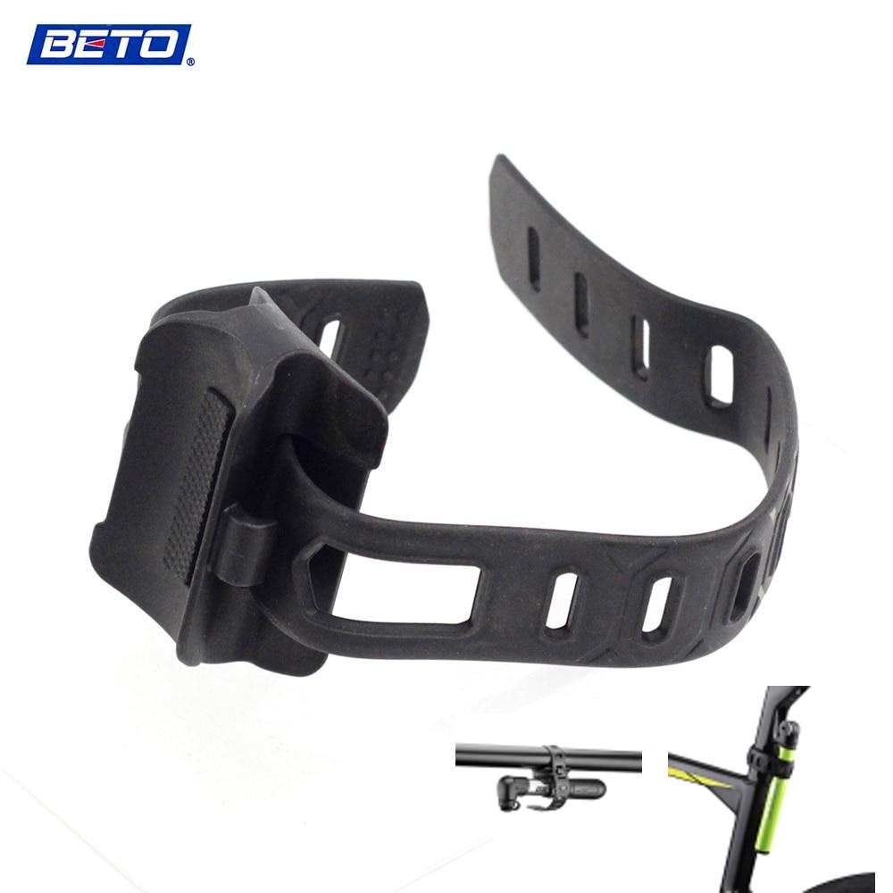 BETO Universal Holder Fixing Strap Magic Adjustable Carrier Bandage To Fix Bike Inflator Pump MTB Multifunction Bike Accessories