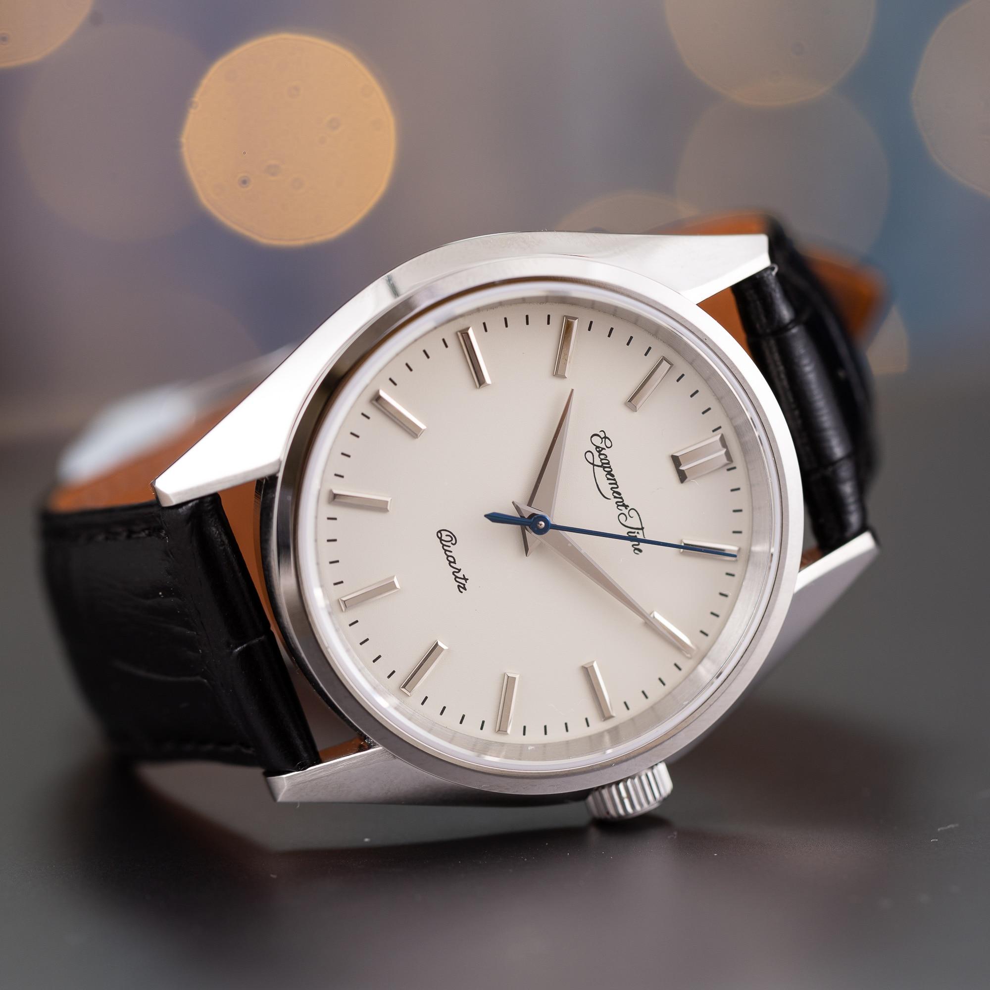 [Время выхода] кварцевые часы 40 мм чехол VH31 с термообработкой рук