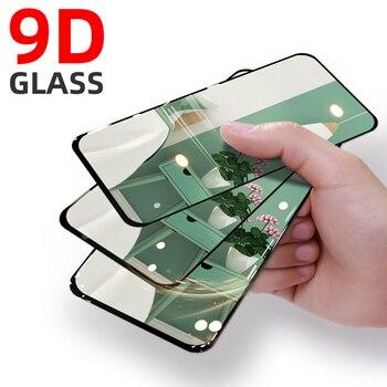 Перейти на Алиэкспресс и купить 9D закаленное стекло для Infinix Note 7 Lite Защитное стекло для экрана полное покрытие для Infinix Note 7 Lite Защитная пленка для телефона