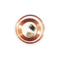 Ic + id duplo chip freqüência rfid 125khz t5577 regravável gravável uid 13.56mhz mutável gravável transparente chave tags keyfob