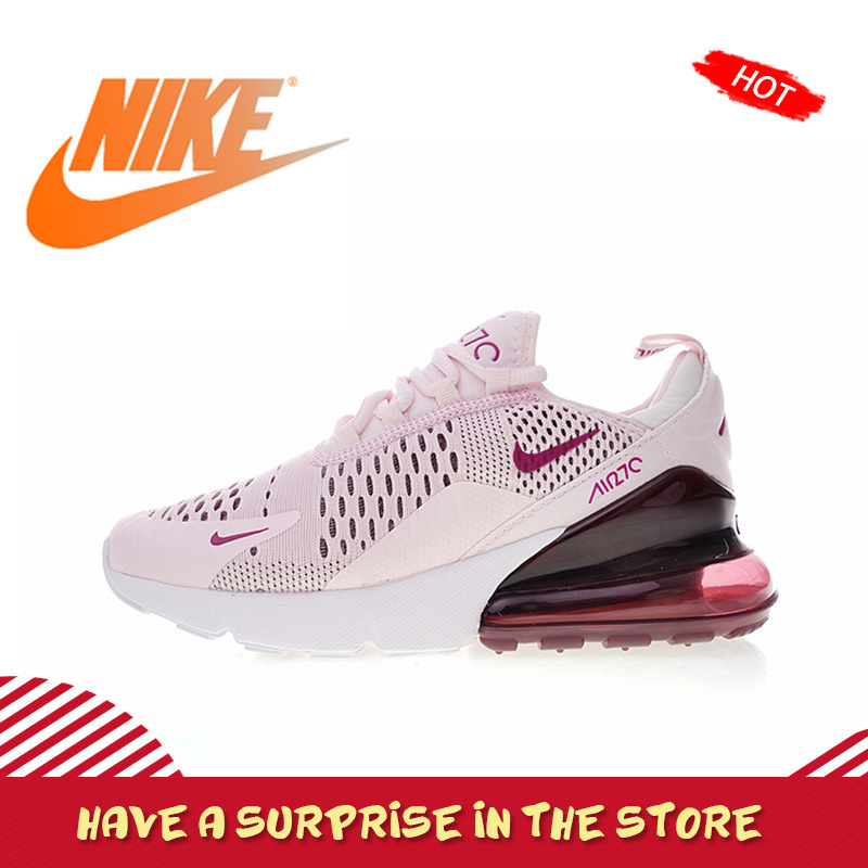 US $60.0 40% OFF|Original Authentic Nike Air Max 270 Womens Running Shoes Sneakers Sport Outdoor jogging Breathable Comfortable durable AH6789 in