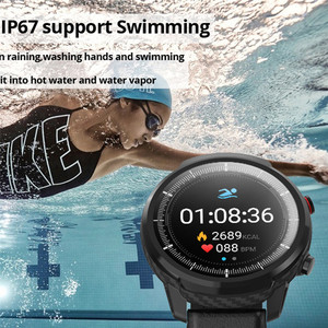 Image 4 - Men Smart Watch L5 S10 Plus L3 IP67 Waterproof Full Touch Screen Long Standby Smartwatch Heart Rate Weather PK Honor