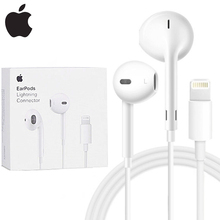 Original Apple EarPods 3.5mm & Lightning Connector Wired Earphones Microphone Fo