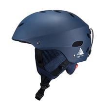 Векторный мужской женский лыжный шлем для катания на лыжах, снежной безопасности, скейтборд, сноуборд, шлем, Регулируемый защитный спортивный шлем для катания на открытом воздухе