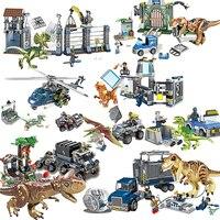 Jurassic World 2 Blue Owen Indoraptor Rex T. Rex Fallen Kingdom Sets Compatible With Lepining Dinosaurs Toys Building Block|Blocks|   -