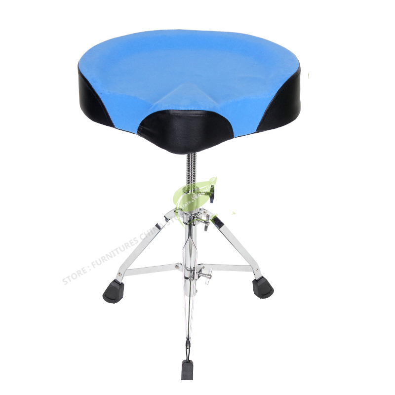 Portable Drum Stool Stainless Steel Adult  Seat Chair Children Drum Chair Adjust Height Lift Musical Instruments