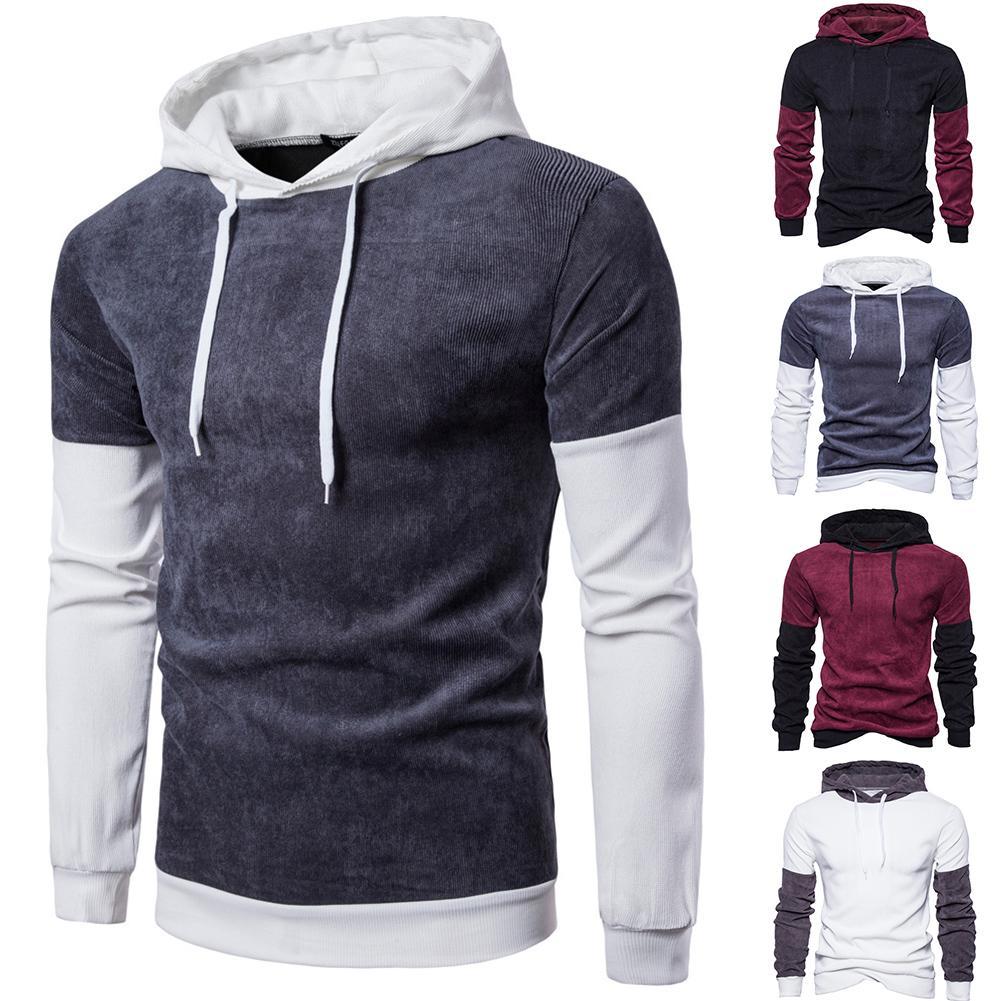 Mens Casual Sweatshirts Long Sleeve Soft Crewneck Pullover