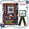 HUANANZHI deluxe X79 scheda madre con Xeon E5 2650 V2 CPU e 8G(2*4G) DDR3 RECC RAM tutto provato prima della spedizione
