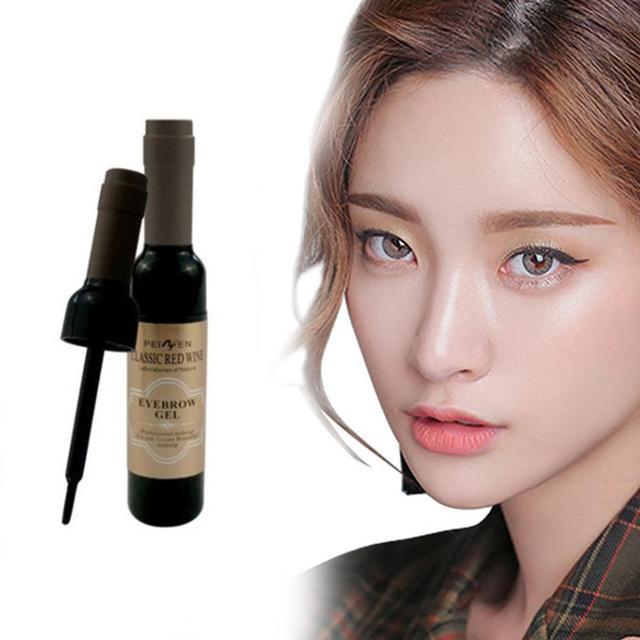 2Pcs Eyebrow Tattoo Gel Black Coffee Gray Peel Off Eye Brow Shadow Eyebrow Gel Makeup for Women High Pigmented Makeup 1
