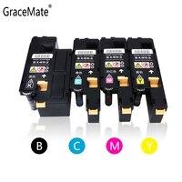 GraceMate Toner Patrone Kompatibel für Xerox CP115W CP116W CP225W CM115W CM225FW für CT202264 CT202265 CT202266 CT202267