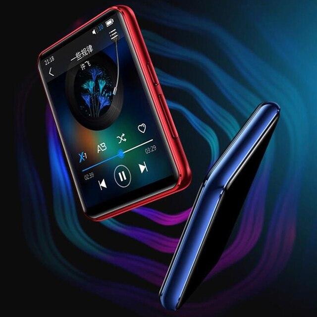 CHENFEC C5 MP4 oynatıcı Bluetooth5.0, HiFi kayıpsız müzik çalar, hoparlör ile 2.5 inç tam dokunmatik ekran 16GB FM, kaydedici