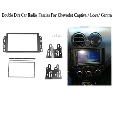 Doppel 2 Din Auto DVD Rahmen, Audio Fitting Adapter, Dash Trim Kits, fascia Für Chevrolet Captiva/Lova/Gentra/AVEO