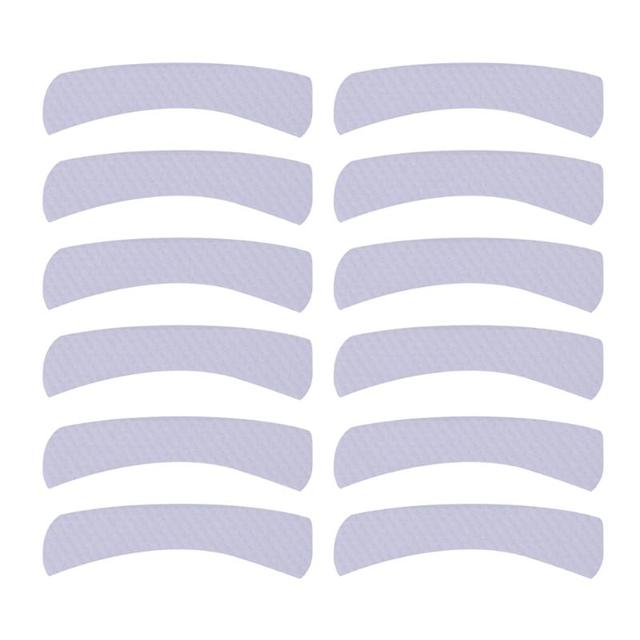 100pcs Paper Patches Eyelash Shields Perm Curler Curling False Eyelashes Extention Under Eye Pads Tips Sticker Wraps 1